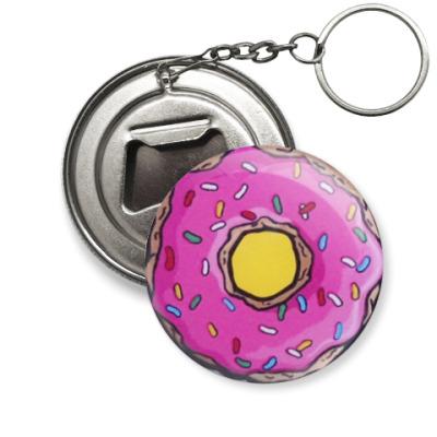 Брелок-открывашка 'Пончик'