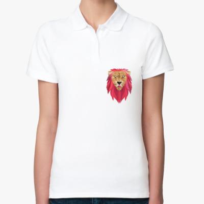 Женская рубашка поло Лев / Lion