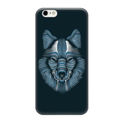 Чехол для iPhone 6/6s Волк