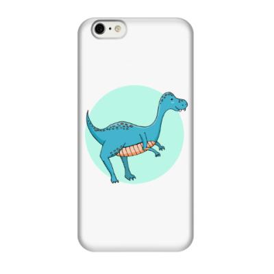 Чехол для iPhone 6/6s Динозаврик