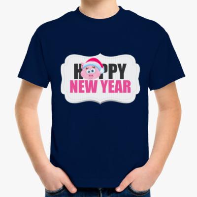 Детская футболка Год кабана 2019