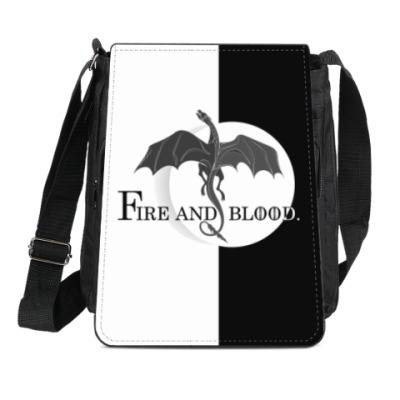 Сумка-планшет Дракон
