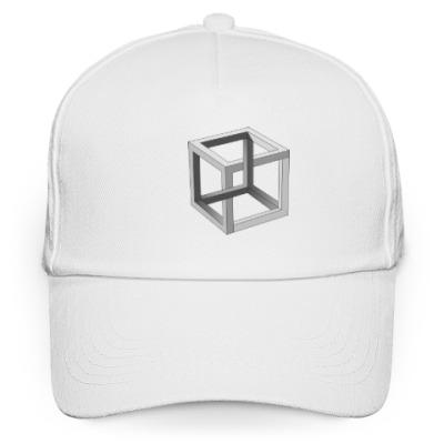 Кепка бейсболка Невозможный Куб 3D