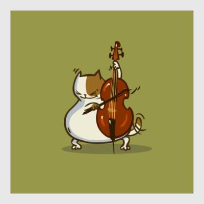 Постер Пятничный Котик №24