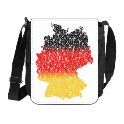 Сумка на плечо (мини-планшет) Германия