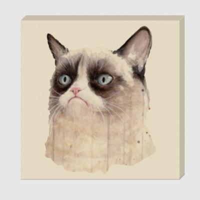 Холст Grumpy Cat / Сердитый Кот