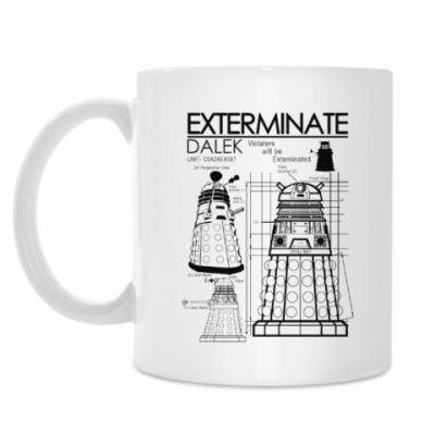 Кружка Dalek plan
