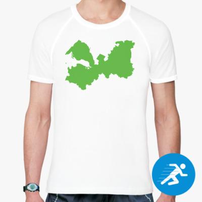 Спортивная футболка Ленинградская обл. (впишите имя своего города)