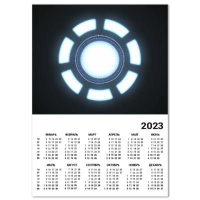 Календарь Iron Man