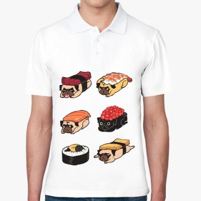 Рубашка поло Суши мопс