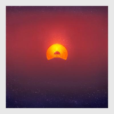 Постер Домик на солнце