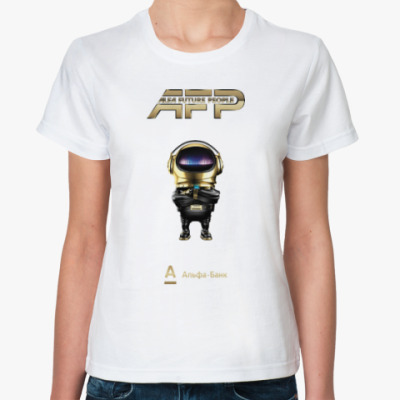 Классическая футболка Женская футболка AFP