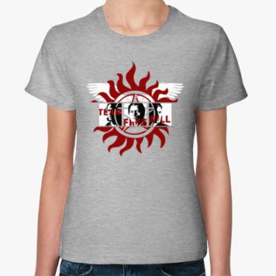 Женская футболка Team Free Will