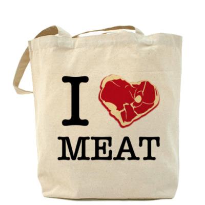 Сумка I love meat