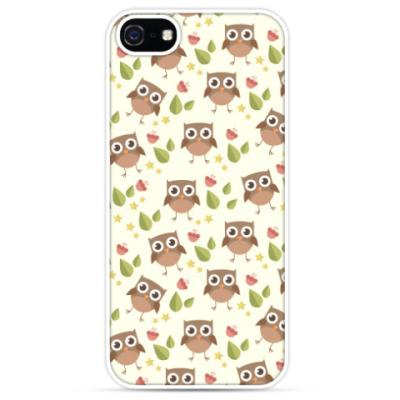 Чехол для iPhone Совы, совушки, owl