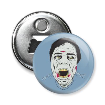 Магнит-открывашка Зомби