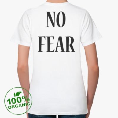 Женская футболка из органик-хлопка NO FEAR [MADONNA]