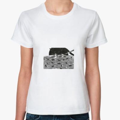 Классическая футболка Арт принт
