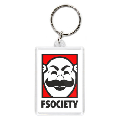Брелок Mr Robot - fsociety - E Corp