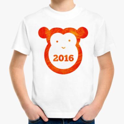 Детская футболка Год Огненной Обезьяны 2016