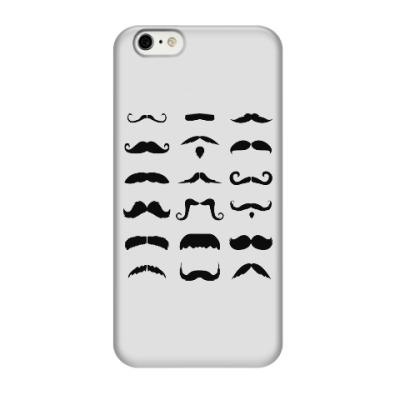 Чехол для iPhone 6/6s Усы