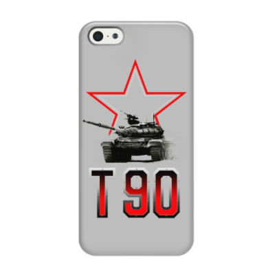 Чехол для iPhone 5/5s Танк Т-90
