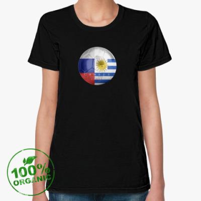 Женская футболка из органик-хлопка Матч дня-ЧМ2018