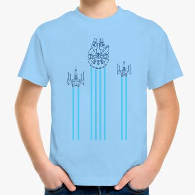 Детская футболка звёздные войны (Star wars)