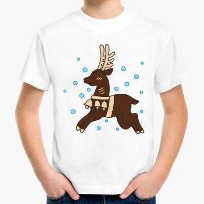 Детская футболка Олененок