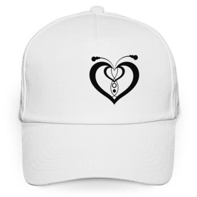Кепка бейсболка Сердце