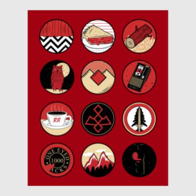 Постер Сериал Твин Пикс Twin Peaks