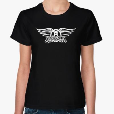 Женская футболка AEROSMITH