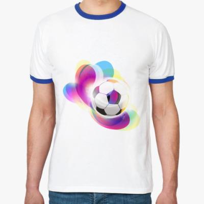 Футболка Ringer-T Футбольный мяч