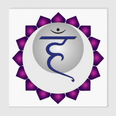 Холст Янтра Вишудха-чакры