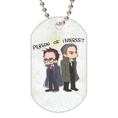 Жетон dog-tag Person of Interest