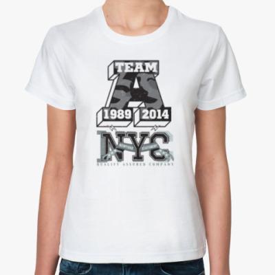 Классическая футболка Команда А