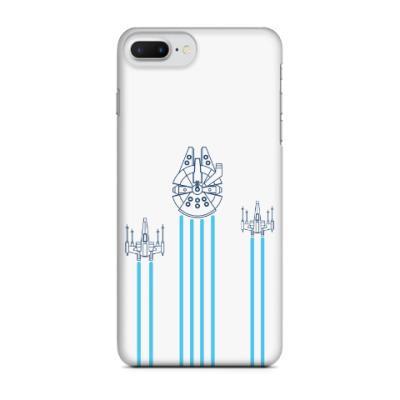 Чехол для iPhone 7 Plus звёздные войн (Star wars)