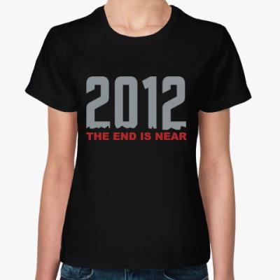 Женская футболка 2012