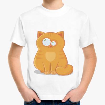 Детская футболка Baby cat