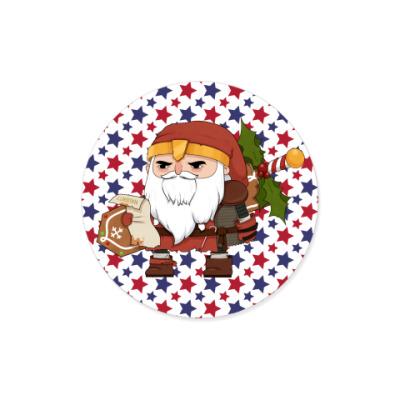 Виниловые наклейки Brutal Santa