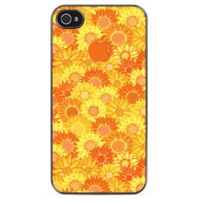 Чехол для iPhone Sunny Flowers