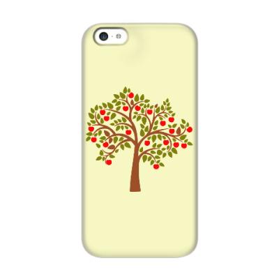 Чехол для iPhone 5c Яблоня