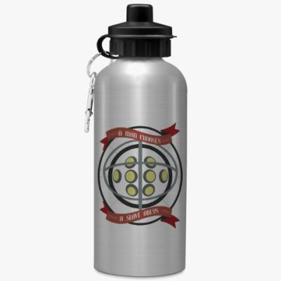 Спортивная бутылка/фляжка BioShock A man chooses