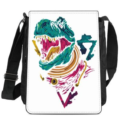 Сумка-планшет Динозавр