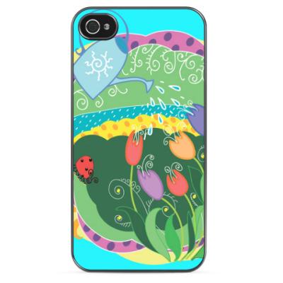 Чехол для iPhone Яркая весна!
