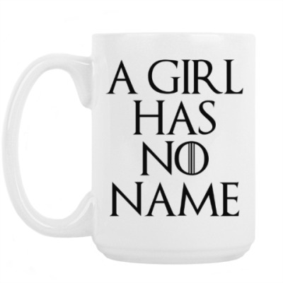 Кружка I CIRL HAS NO NAME