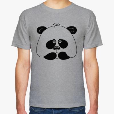 Футболка Грустная панда