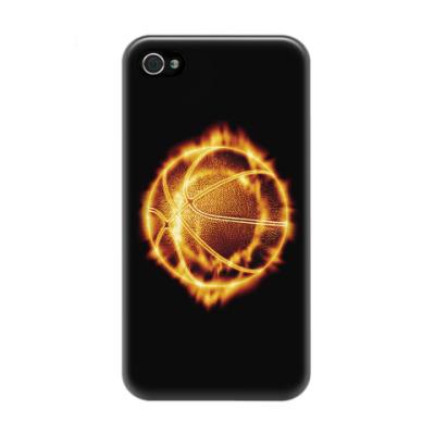 Чехол для iPhone 4/4s Баскетбольный мяч