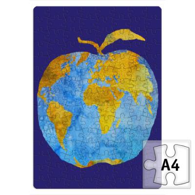 Пазл Apple Earth