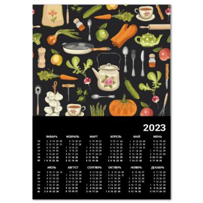 Календарь Retro kitchen